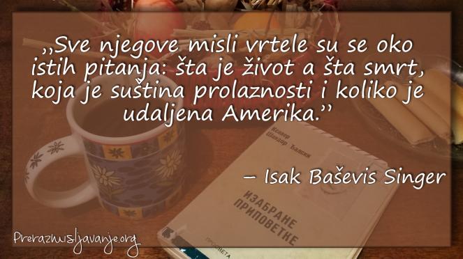 Isak Baševis Singer Singer2