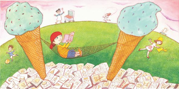 celebrate-picture-books-picture-book-review-ice-cream-summer-interior-art-history